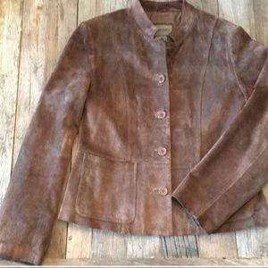 Brandon Thomas leather/suede jacket